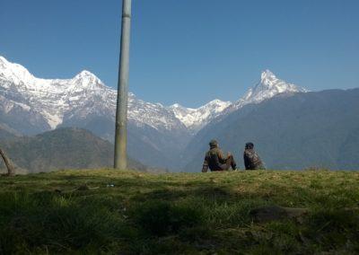 Apa és fia - Annapurna - Himalayai trek