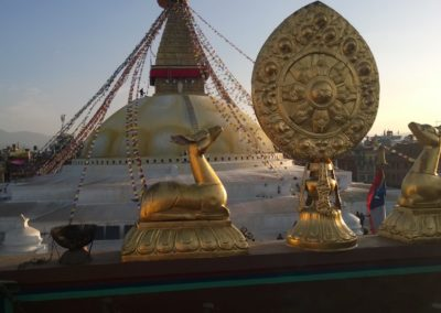 Nepál - Boudhanath Stupa
