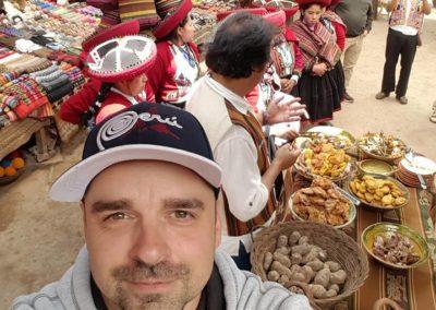 Peru vendégségben - helyi ételek