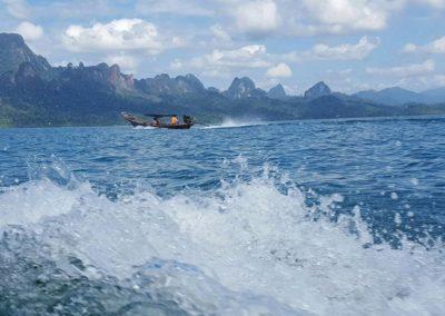 Thaiföld boat